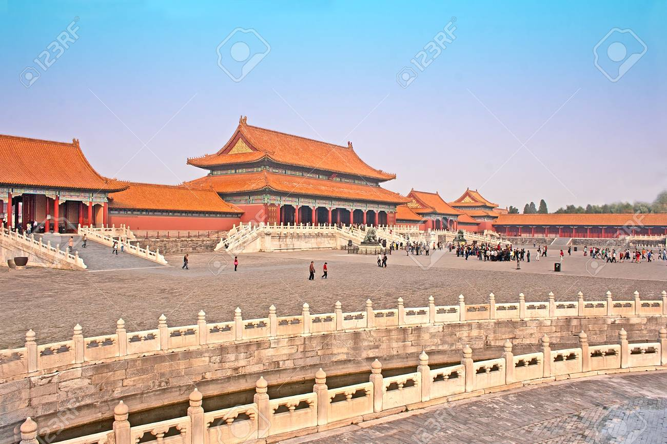 Buildings Inside The Forbidden City, Beijing, China Stock Photo, Picture  And Royalty Free Image. Image 16652095.
