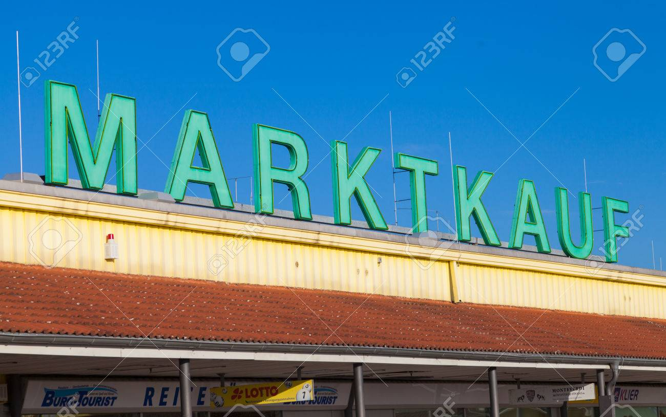 BURG / GERMANY - NOVEMBER 13, 2016: Marktkauf sign, a discount