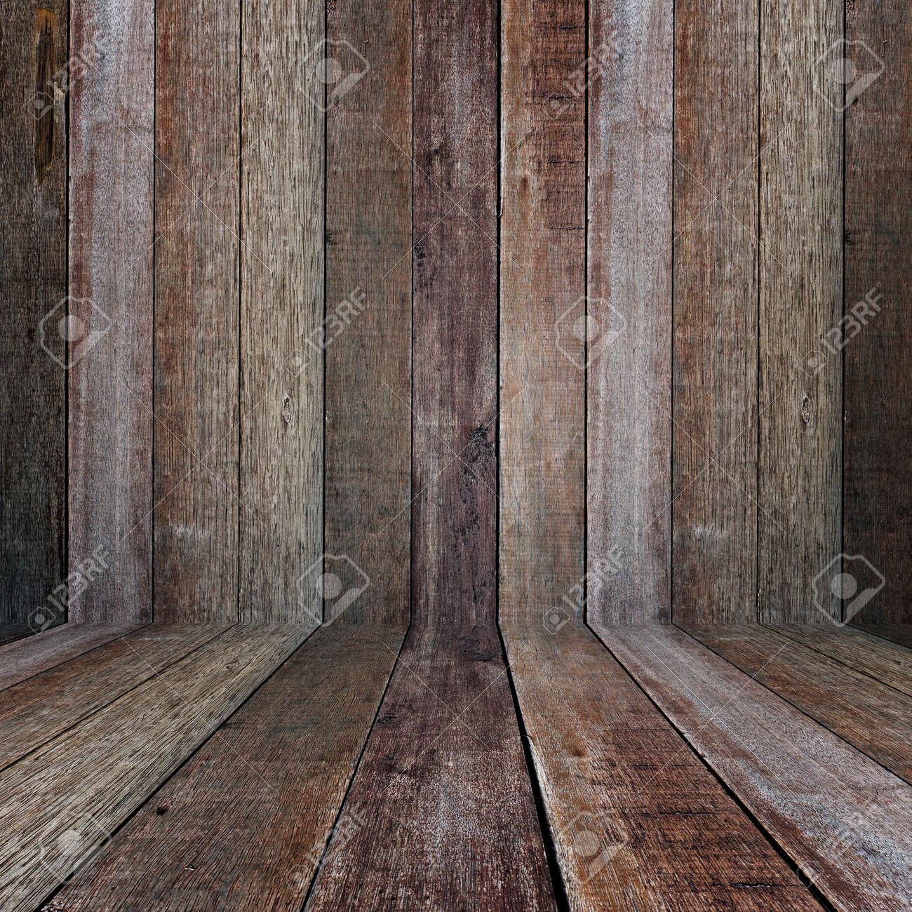 Interior vintage wood room Stock Photo - 16357388