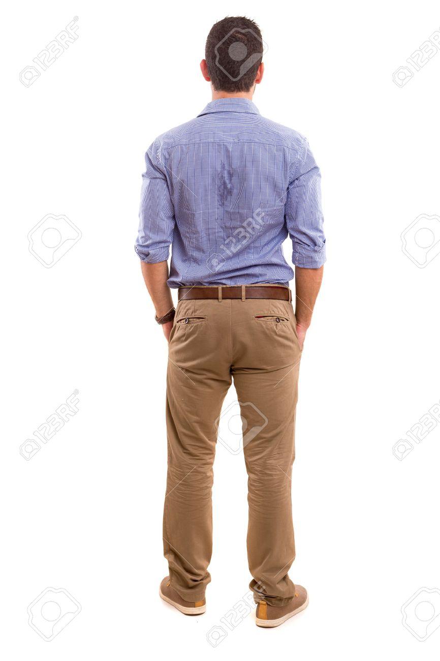 Fotos de modelos hombres de espalda