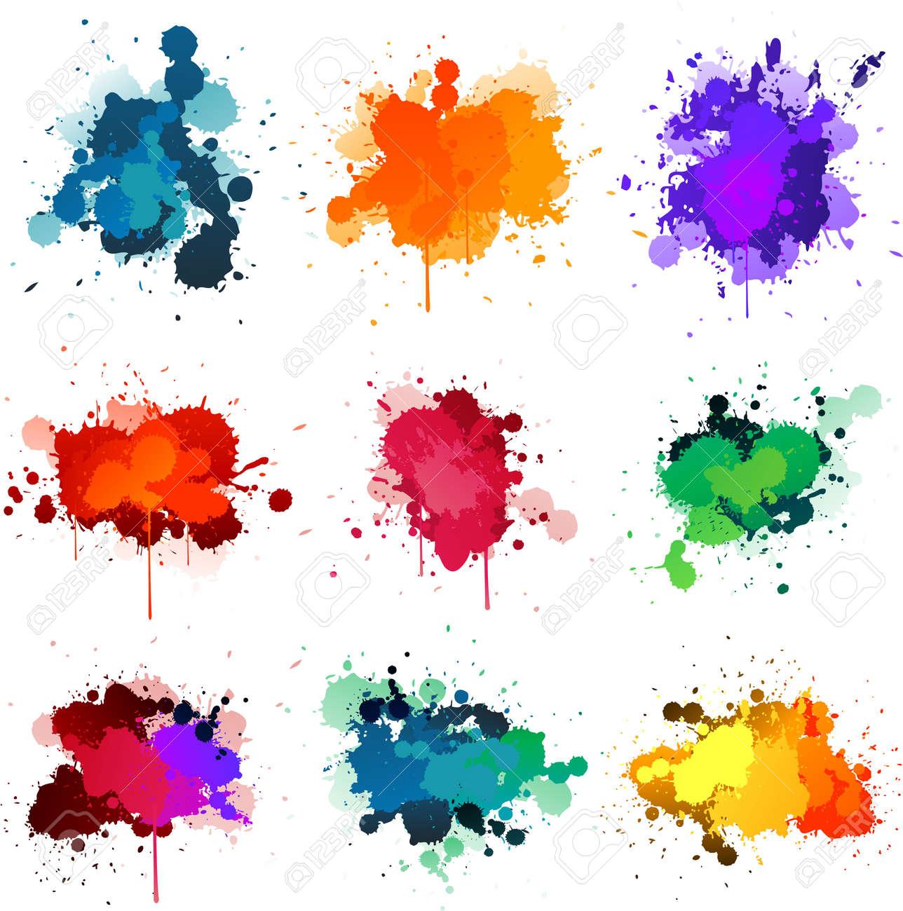 Paint splat - 8626788