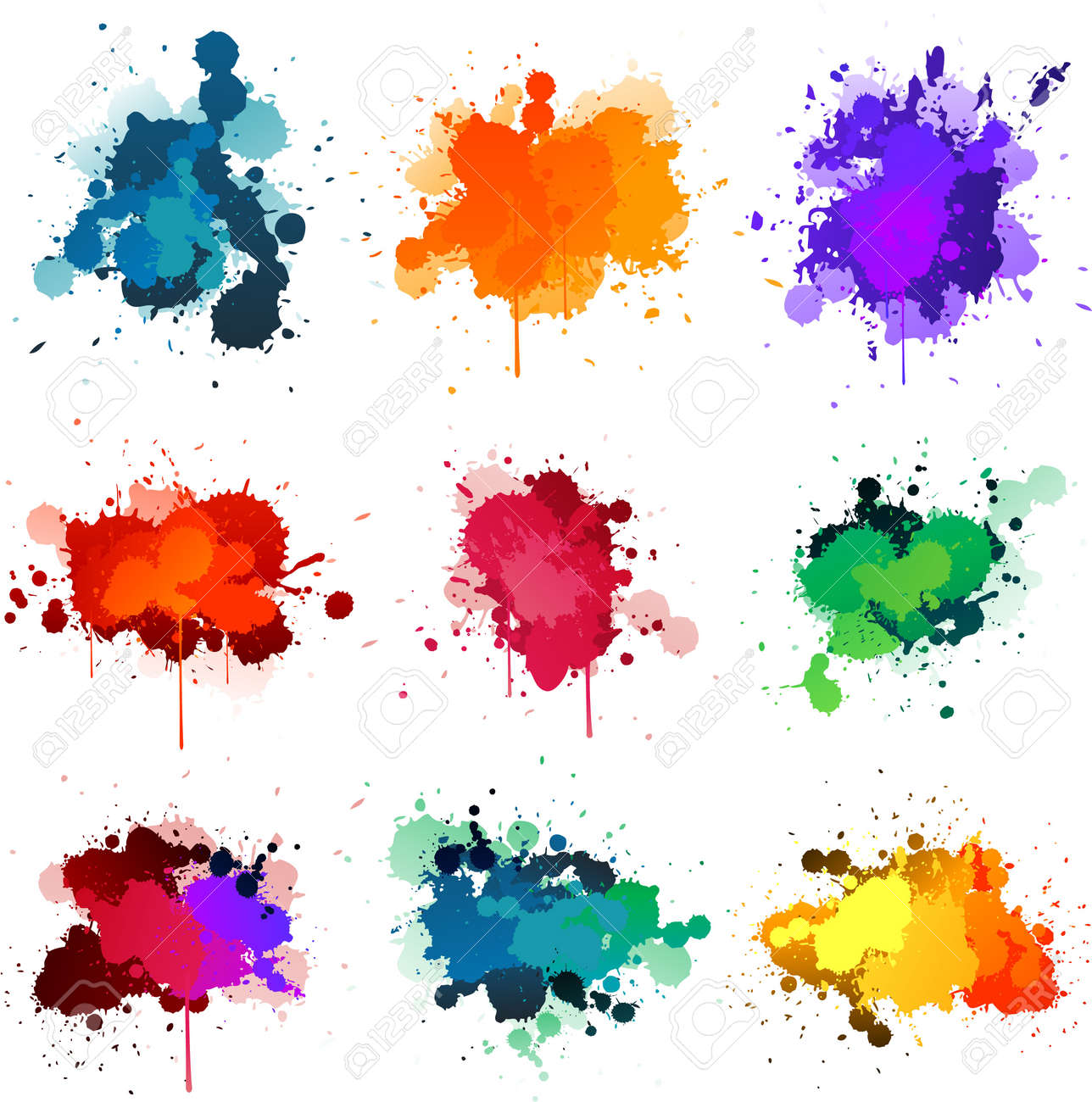 Paint splat Stock Vector - 8626788