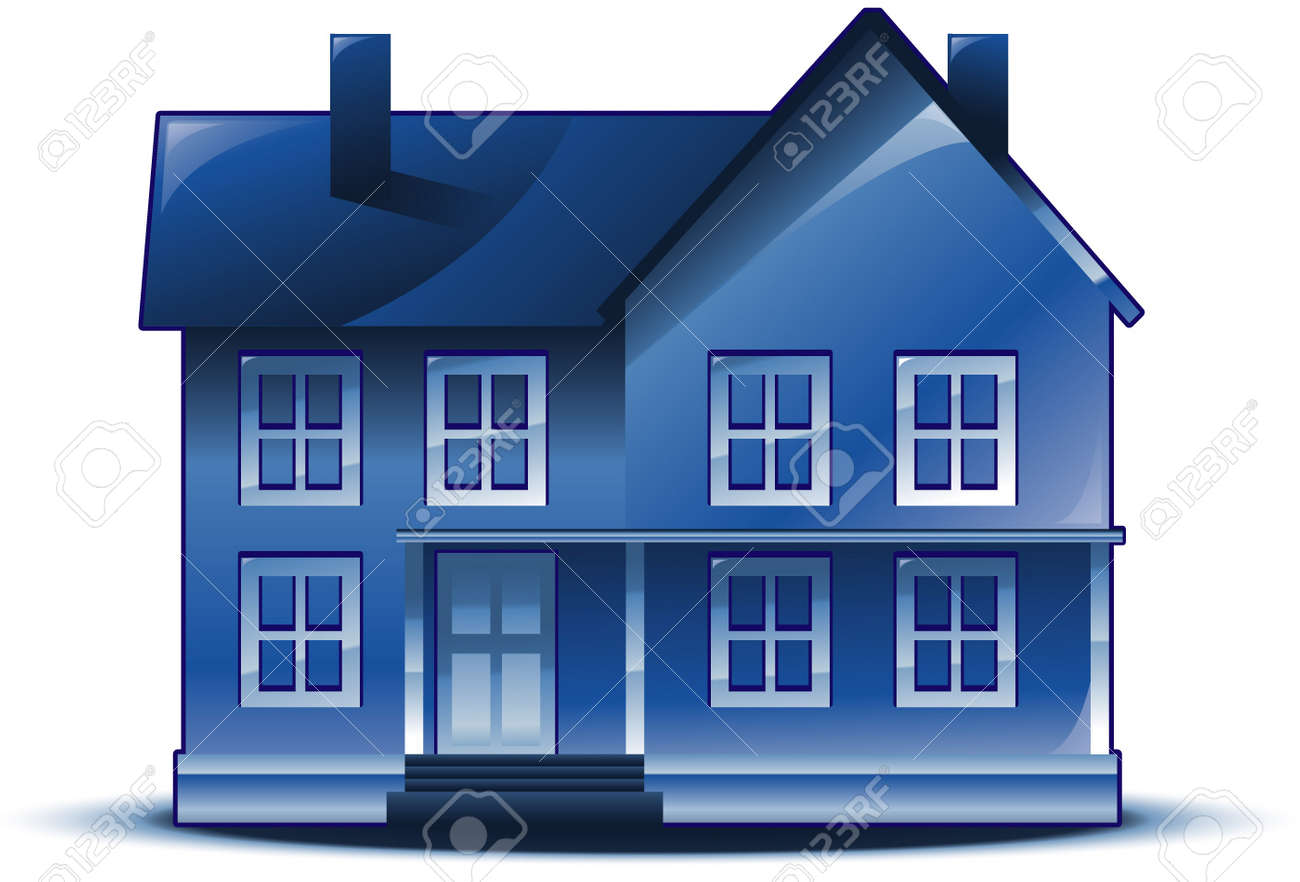 Real estate house logo Stock Vector - 8651332