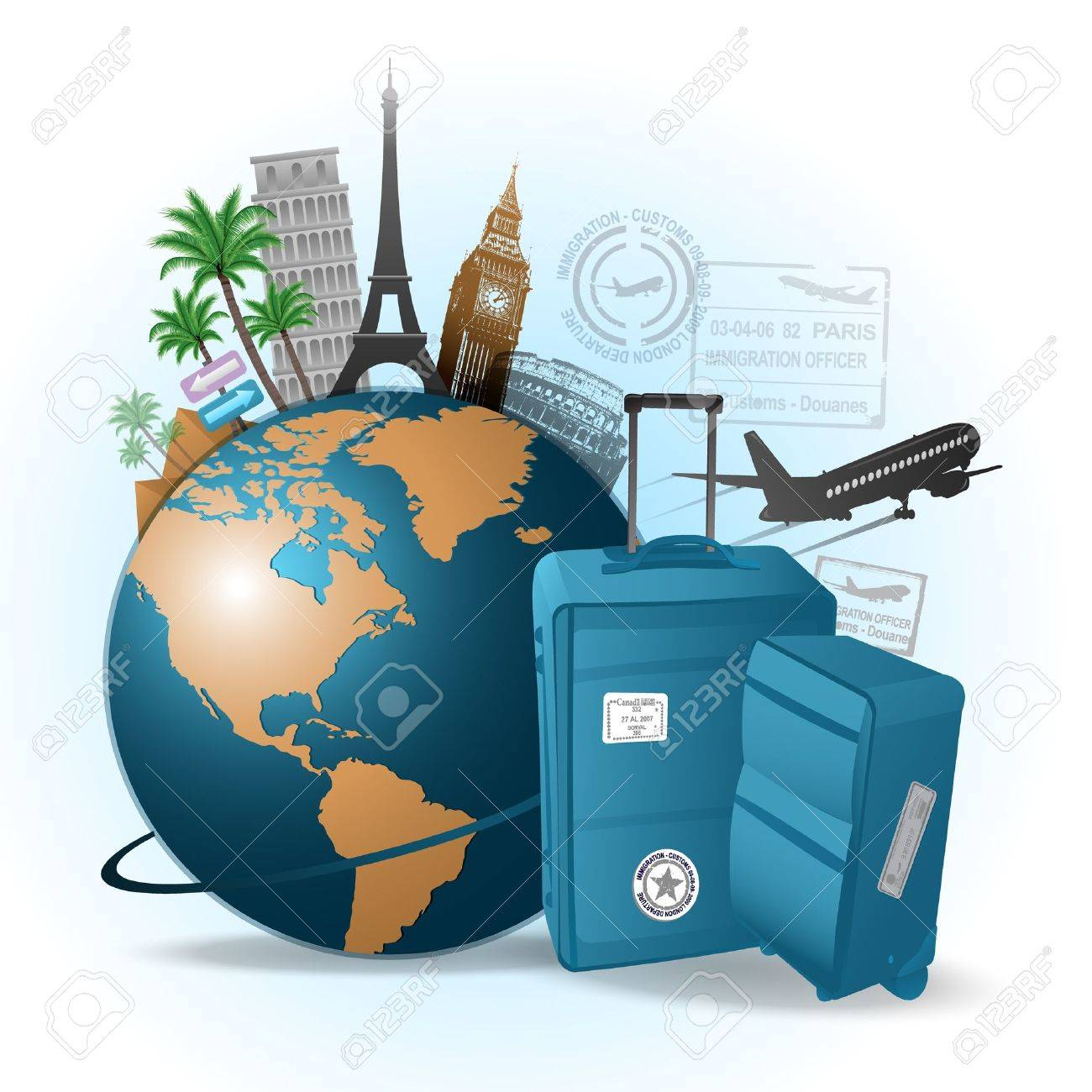 Travel background - 9934559