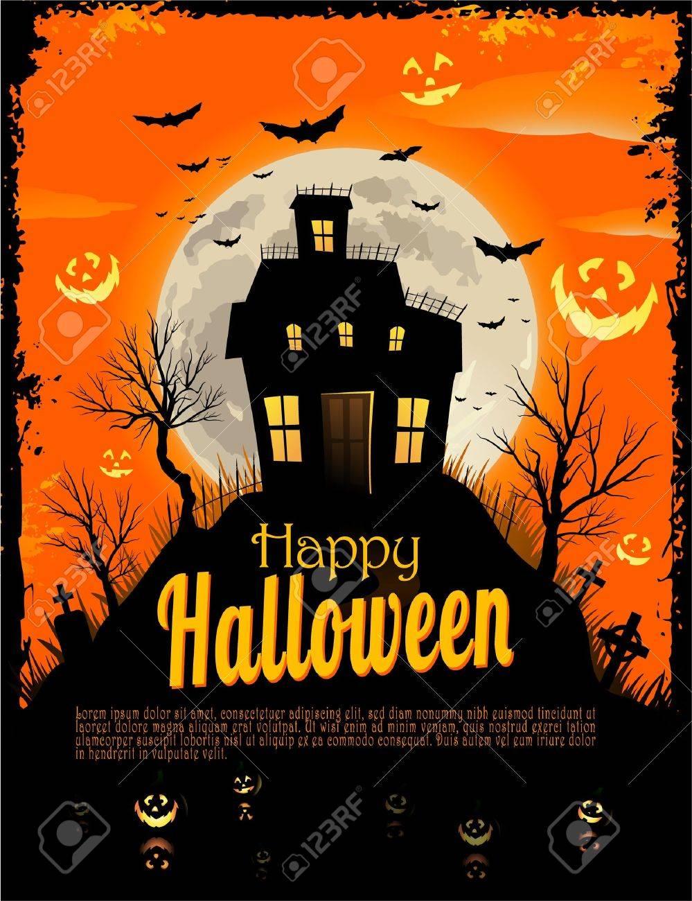 Halloween background Stock Vector - 11067135