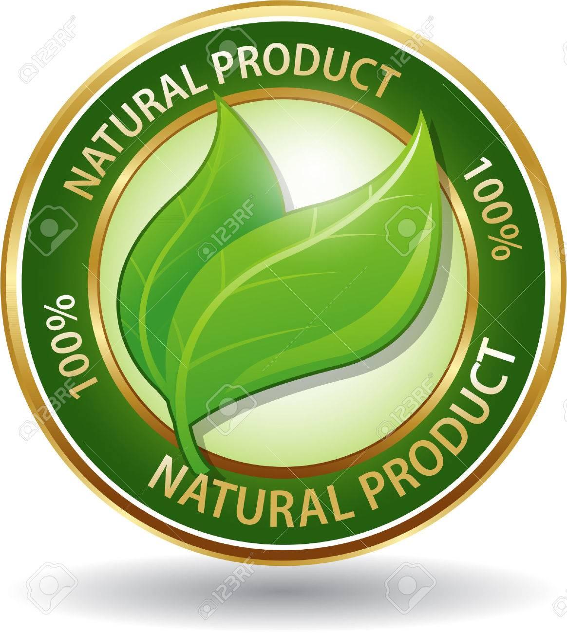 354436f750eb8 Símbolo Producto Natural Ecológico Icono De Página Web Ilustraciones ...