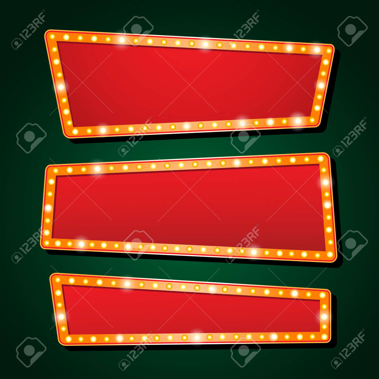orange neon lamp letters font show cinema and theater - 52586095