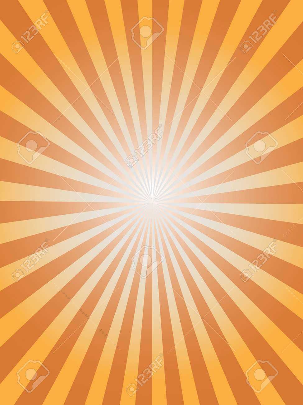 simple sunray background for design Stock Vector - 8001637