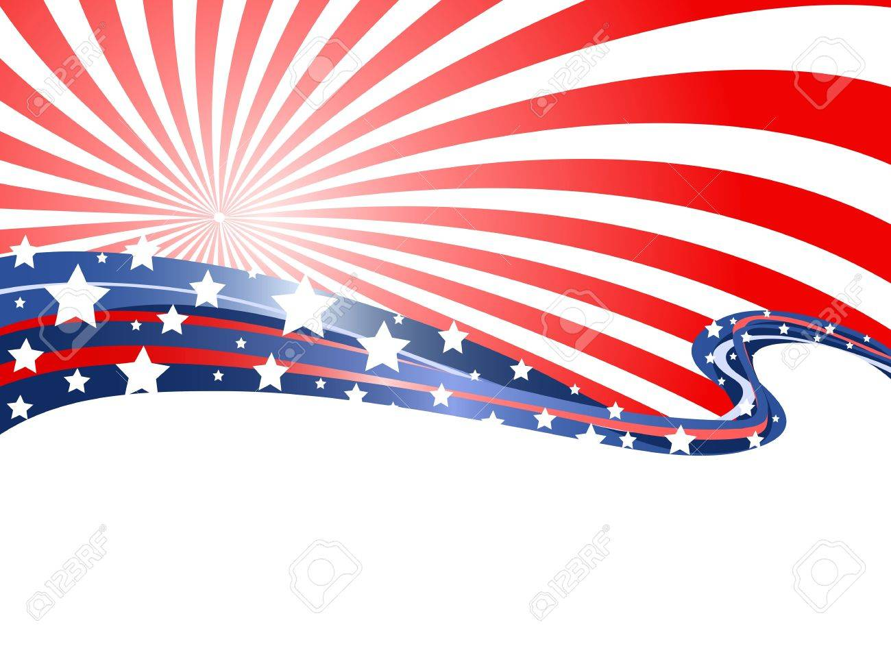 the abstract background of patriotic theme - 15533932