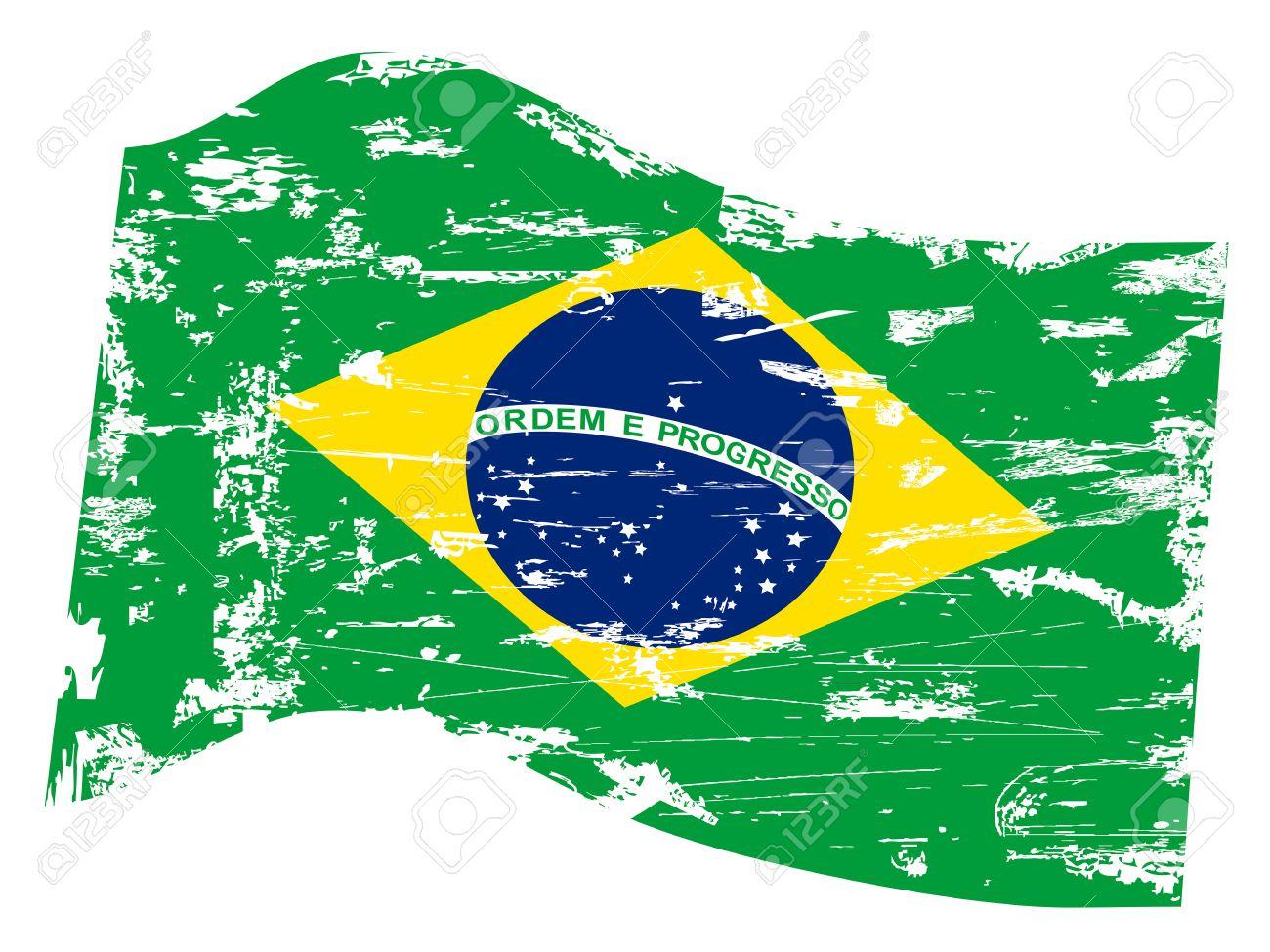 isolated grungy brazil flag on white background royalty free rh 123rf com brazil flag vector download brazil flag vector free download