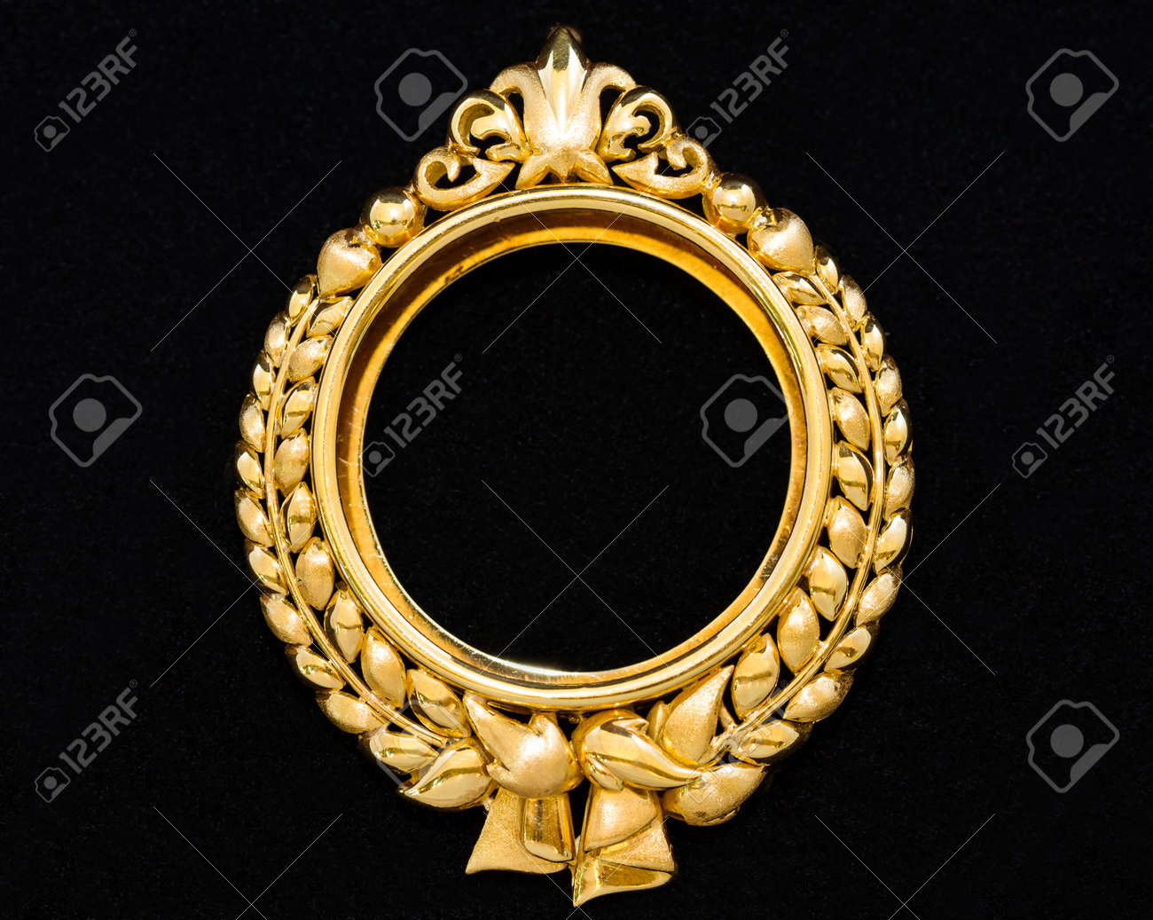 Gold locket frame pendant on black background stock photo picture gold locket frame pendant on black background stock photo 32149693 aloadofball Choice Image