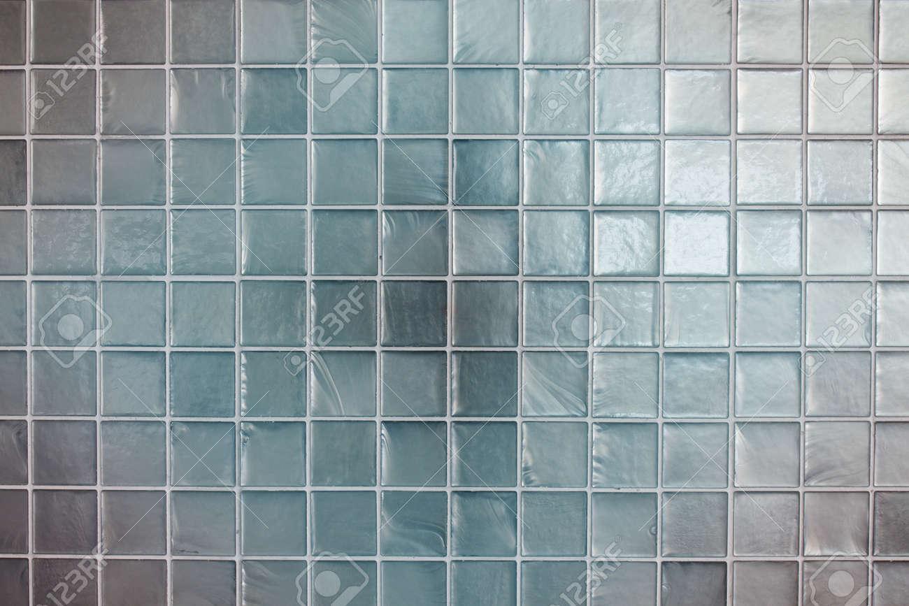 Modern Light Blue Tile Wall Texture For Interior Stock Photo ...
