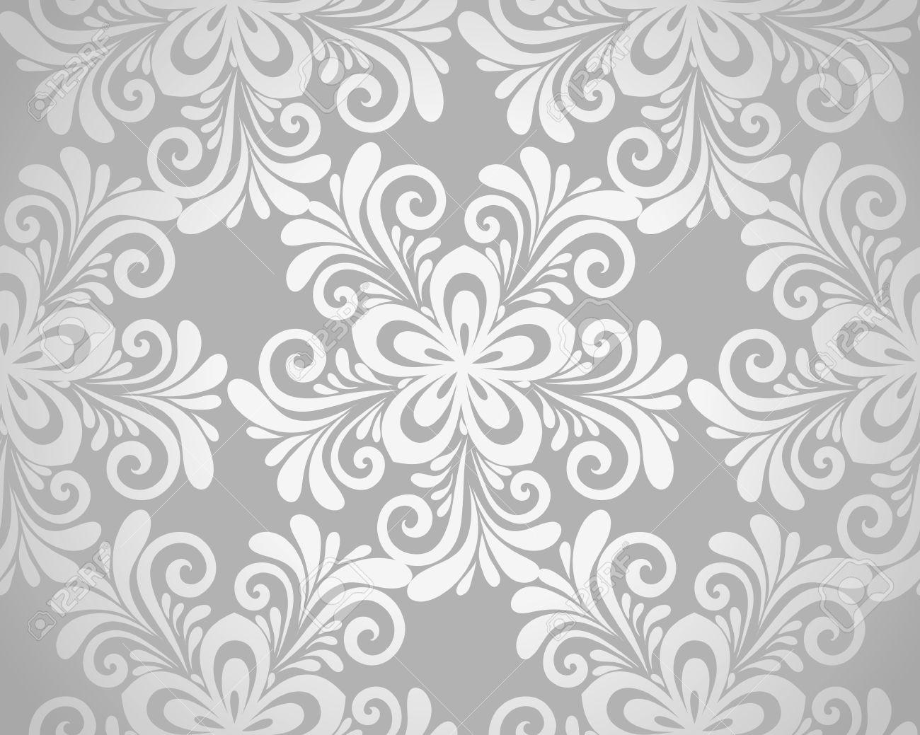Excellent seamless floral background with flowers in silver excellent seamless floral background with flowers in silver many similarities to the author stock vector mightylinksfo