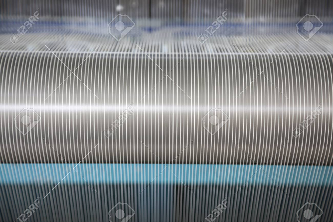 cotton threads in a spinning factory Stock Photo - 16261365