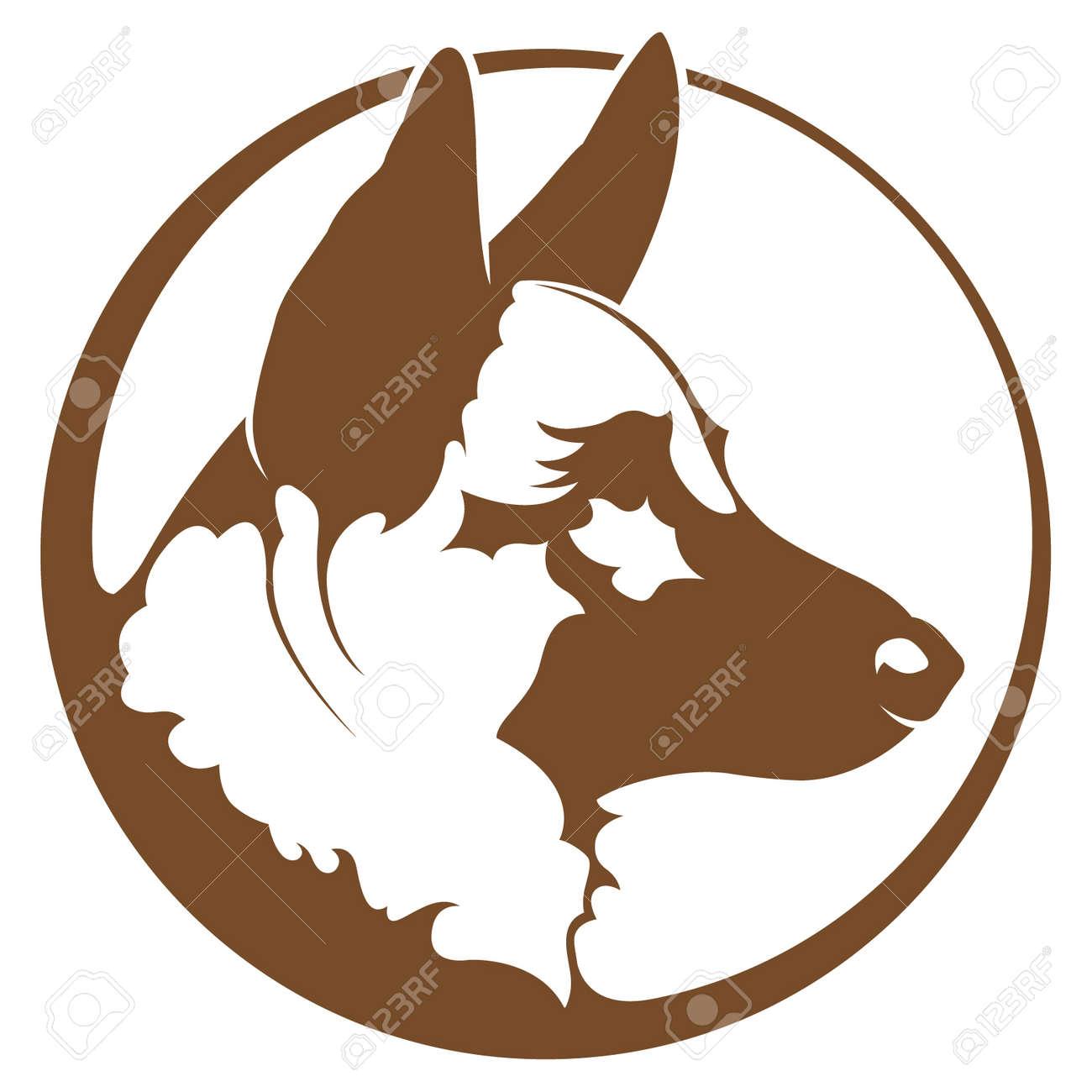 german shepherd royalty free cliparts vectors and stock rh 123rf com