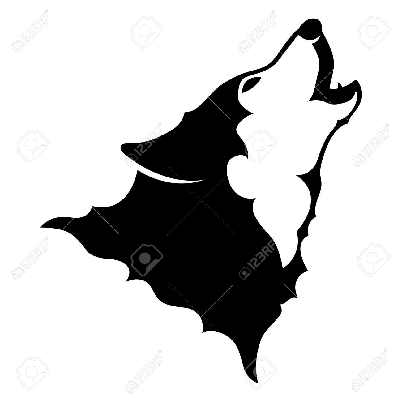 howling wolf vector royalty free cliparts vectors and stock rh 123rf com wolf vector graphic wolf vector free download
