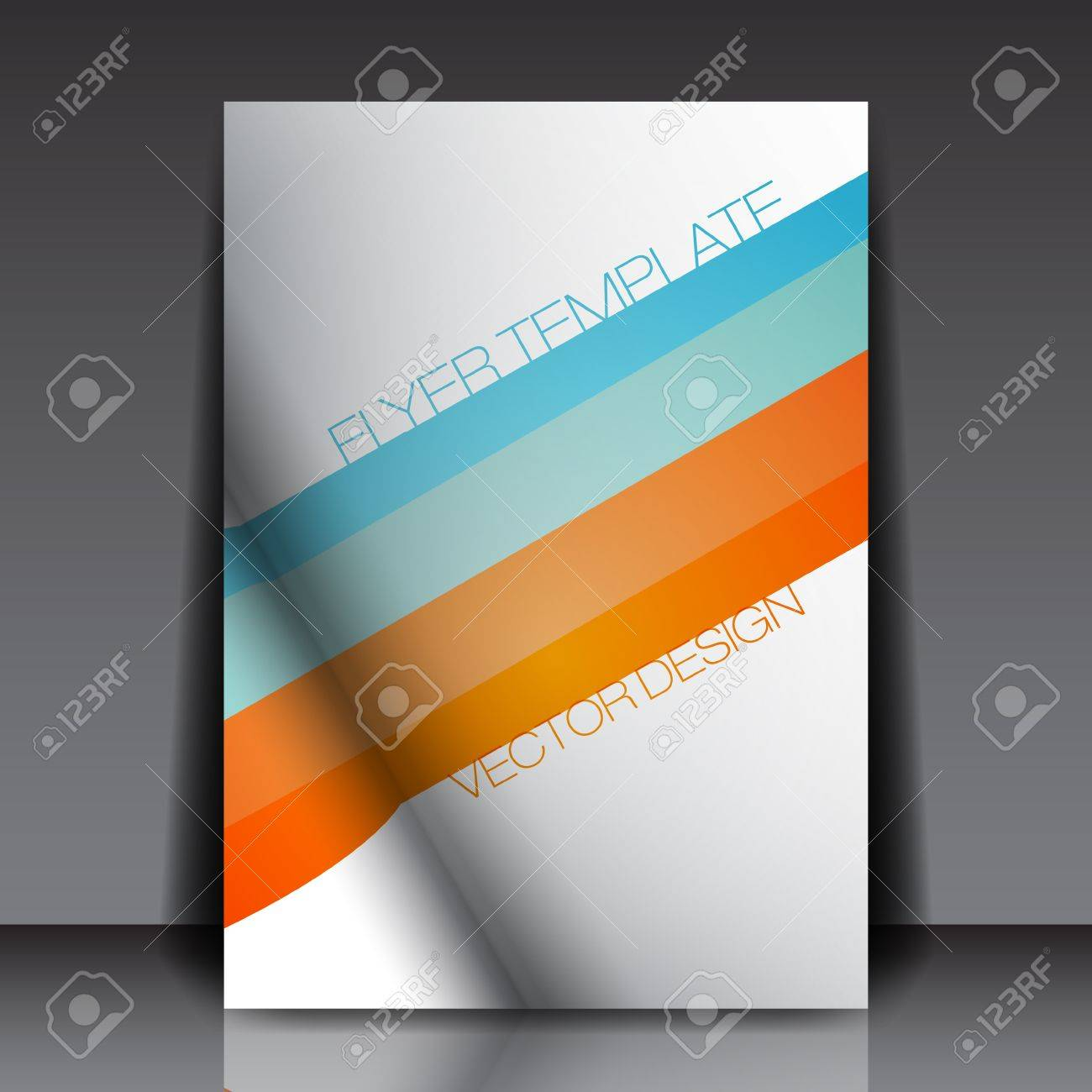 Summer Colors Design - Abstract Flyer Stock Vector - 14422818