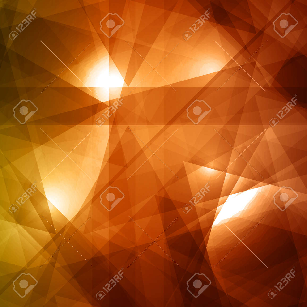 Abstract yellow and brown background for design Stock Vector - 14425943