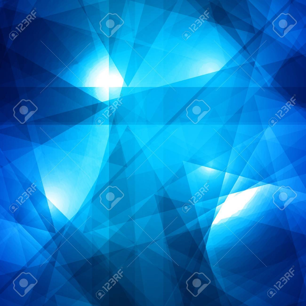 Abstract blue background for design Stock Vector - 14425756