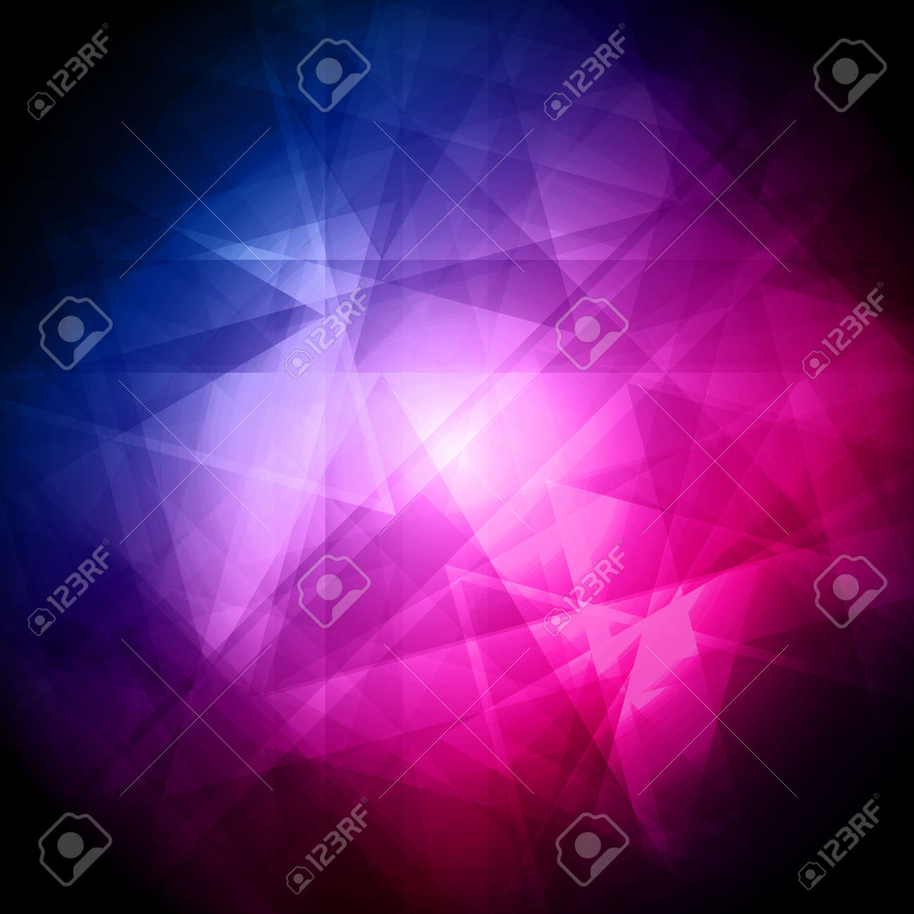 Abstract blue and pink background for design - vector illustration Stock Vector - 14429173