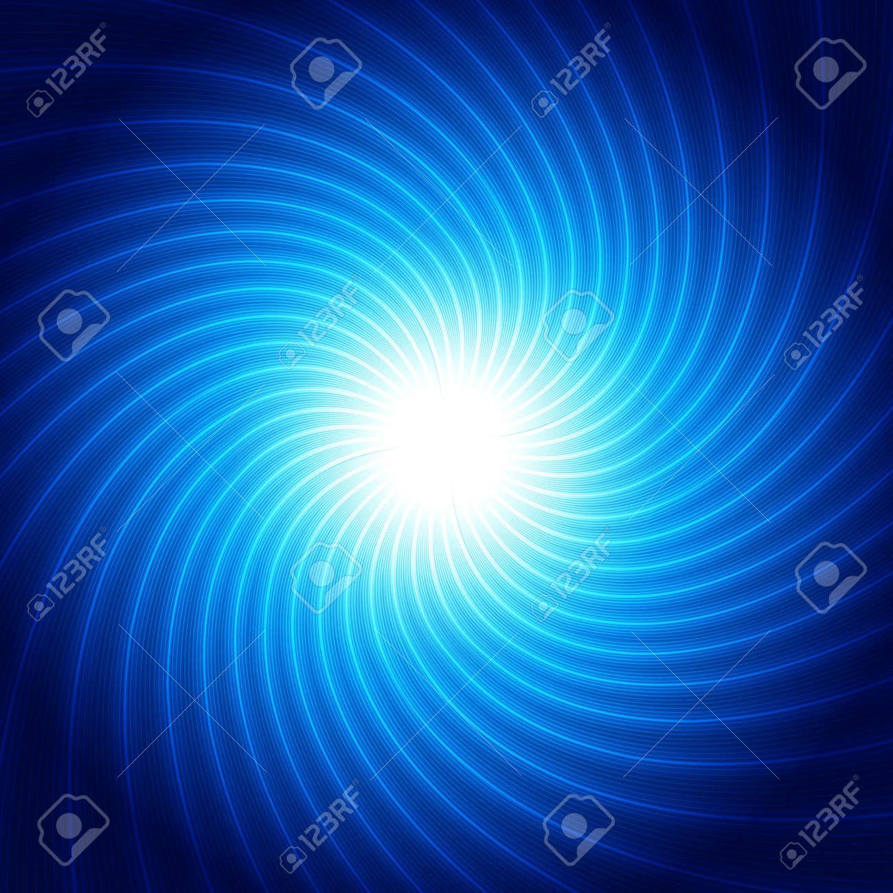 青い渦巻線 - デザイン コンセプトのイラスト素材・ベクタ - Image ...