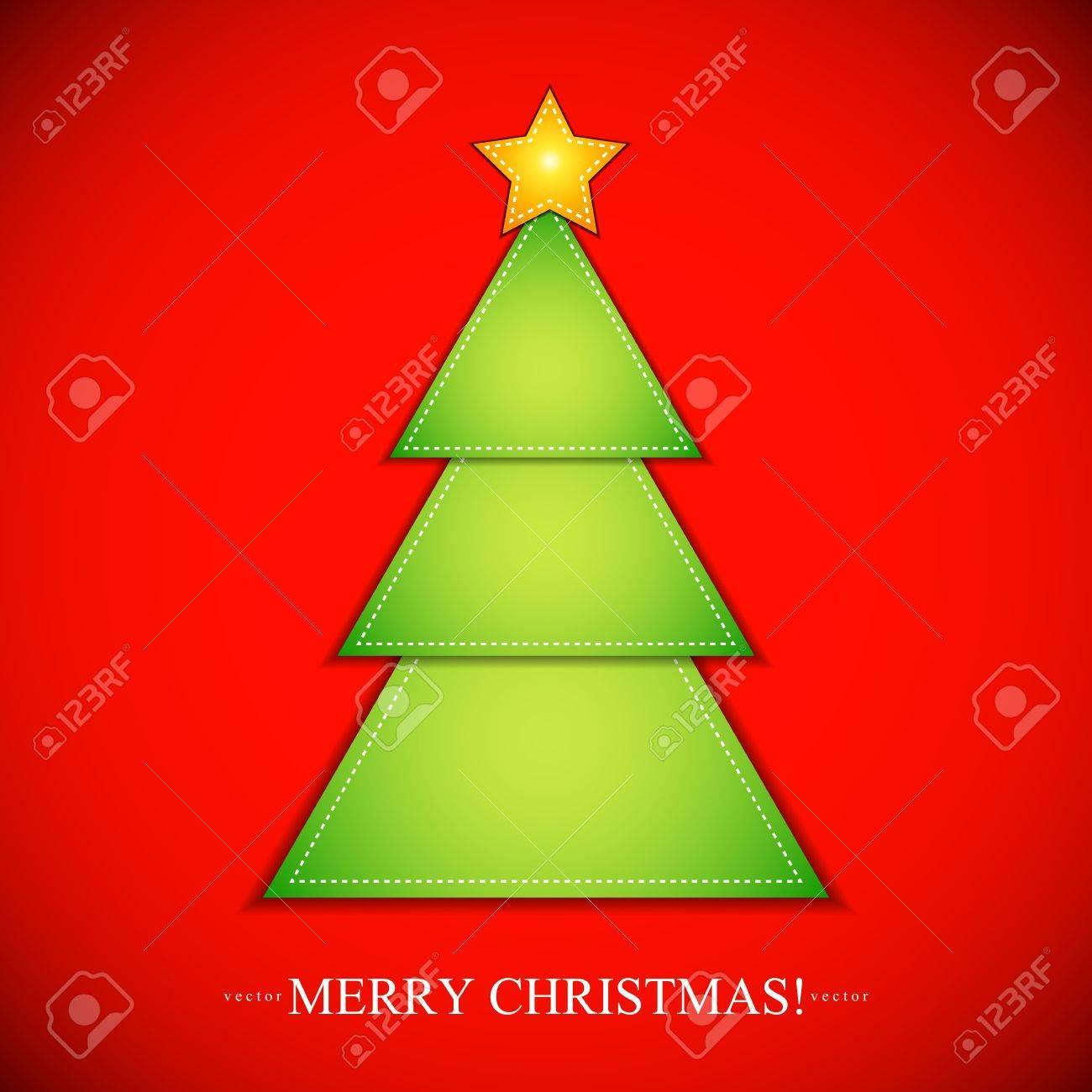 shape of Christmas Tree Christmas Tree Shape With Star