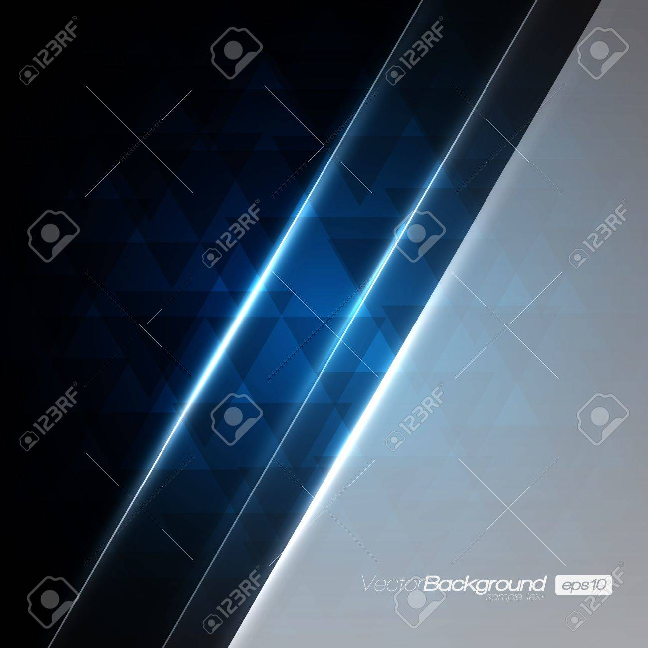 Abstract Modern Blue background for Your Text Stock Vector - 15775564