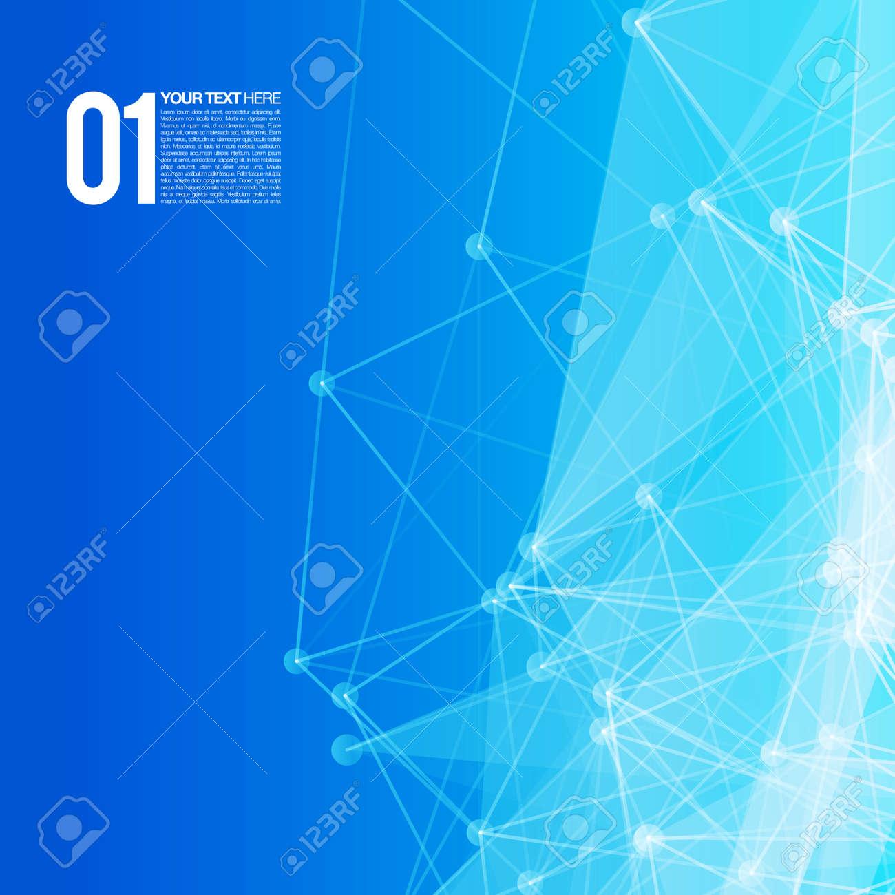 サークル線と形 EPS10 の未来的...