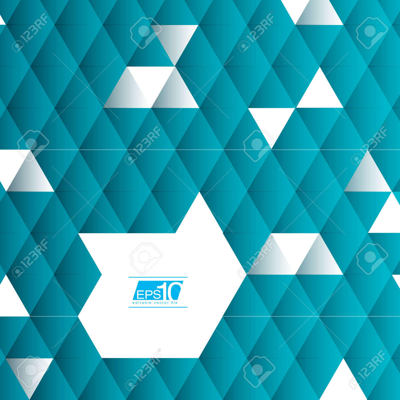 Abstract Triangle Geometrical Vector Design Stock Vector - 19897661