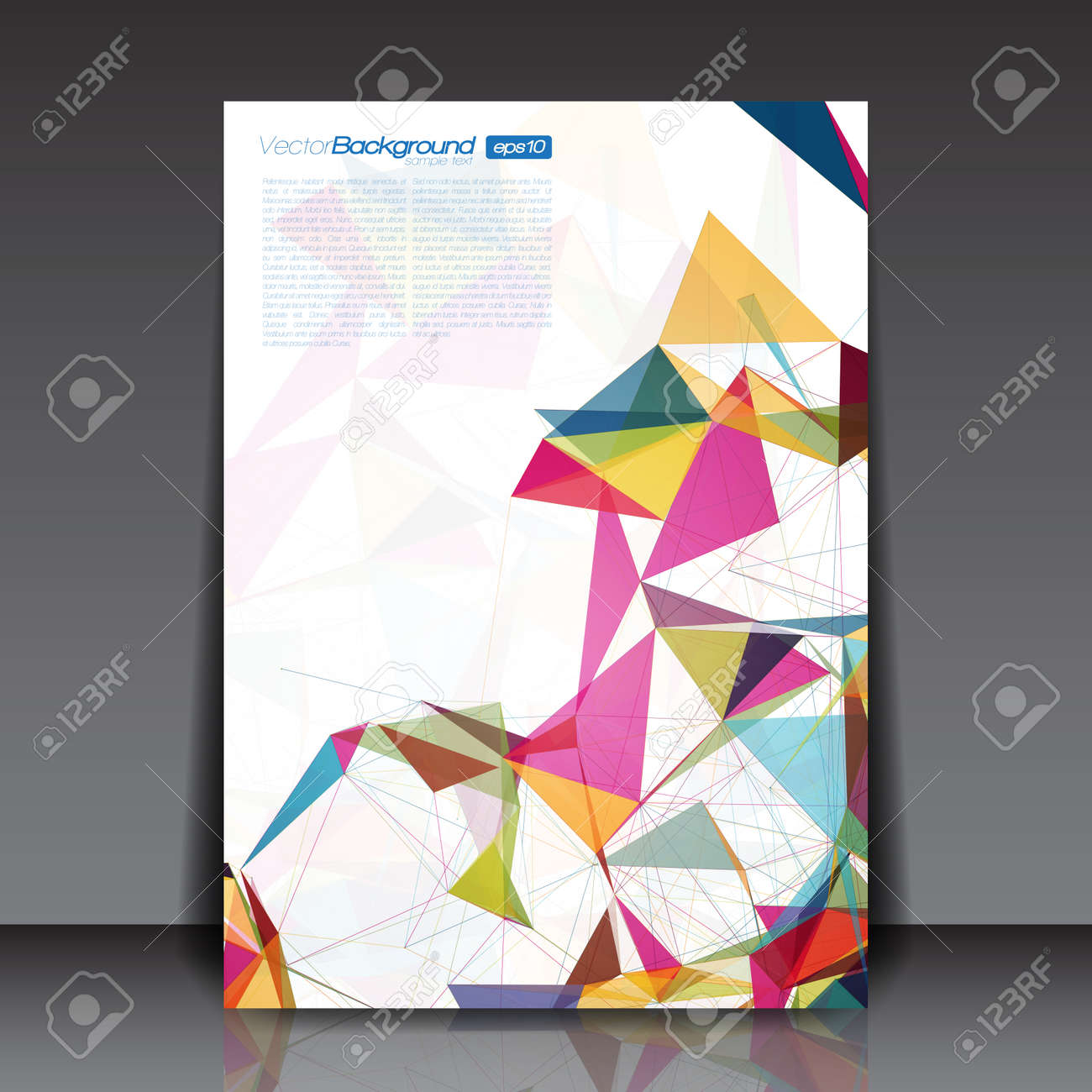 Abstract shapes business flyer template vector design royalty free abstract shapes business flyer template vector design stock vector 32360059 friedricerecipe Choice Image
