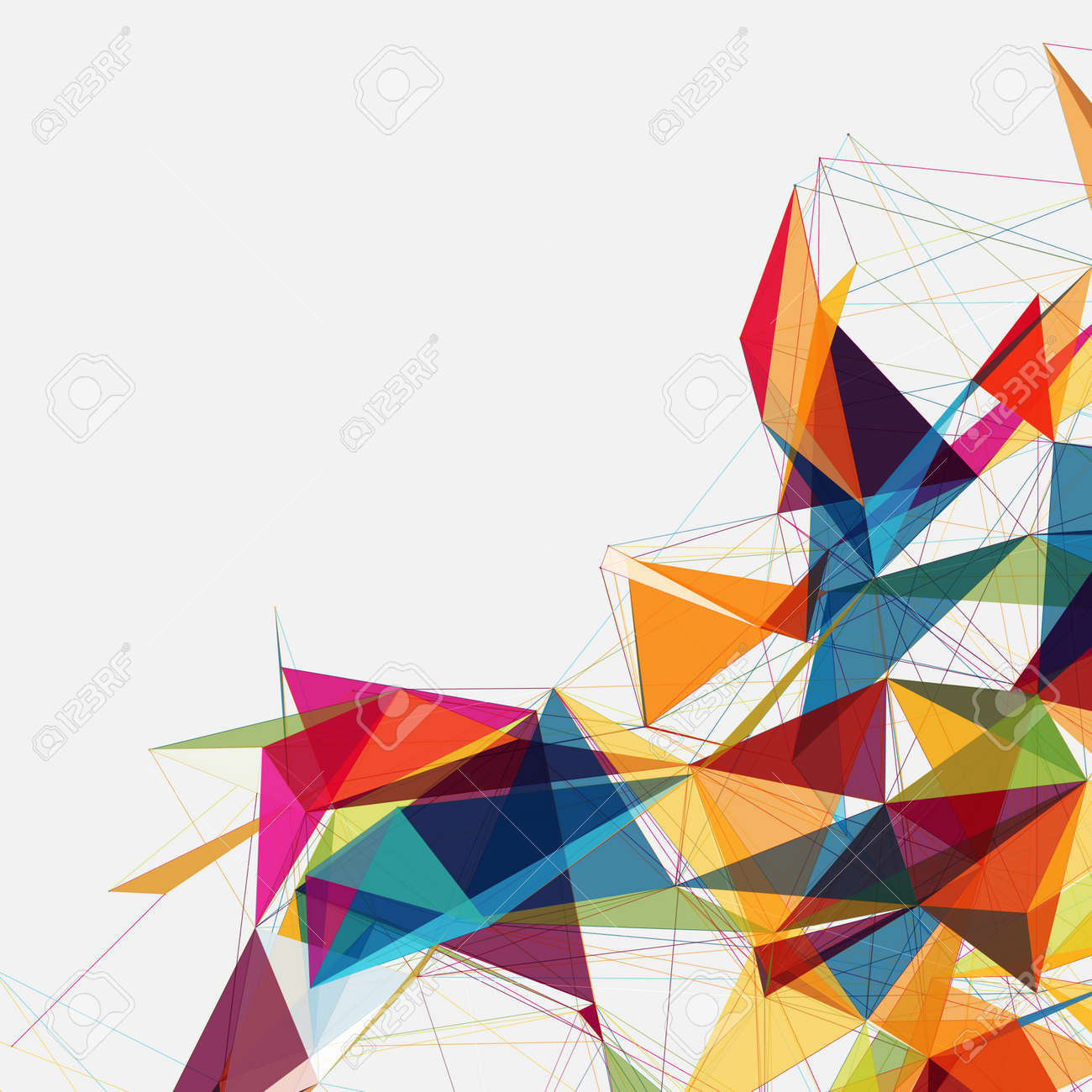 Abstract Shapes Background Eps10 Futuristic Design
