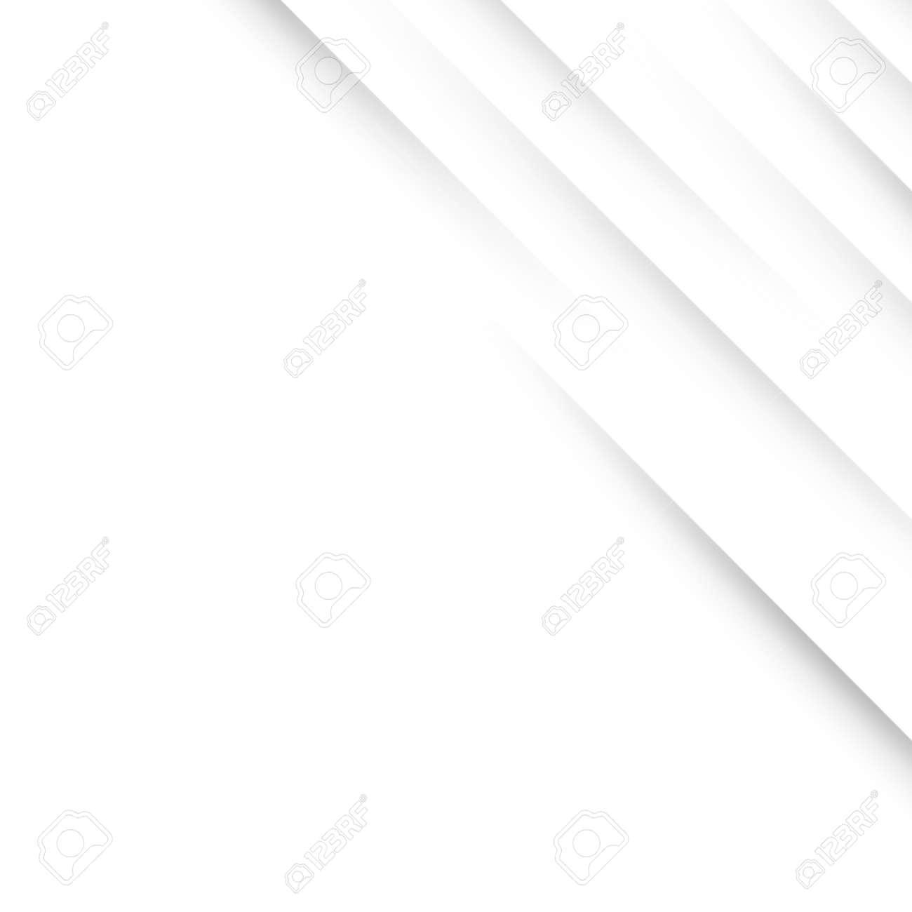 Simple Slanting Shadow Lines Vector Background - Decorative Minimal