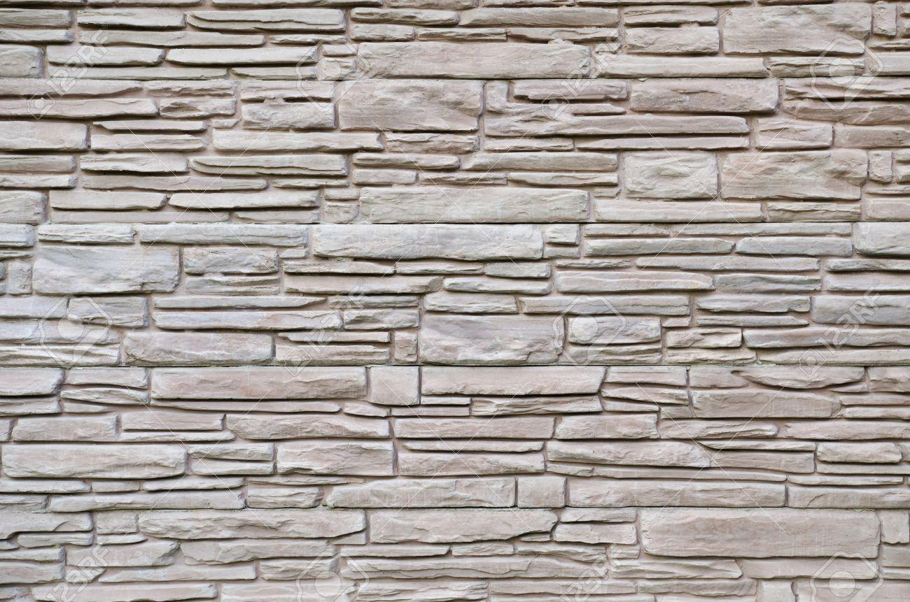 Muro De Piedra O Textura Material De Construccin Para La Cerca