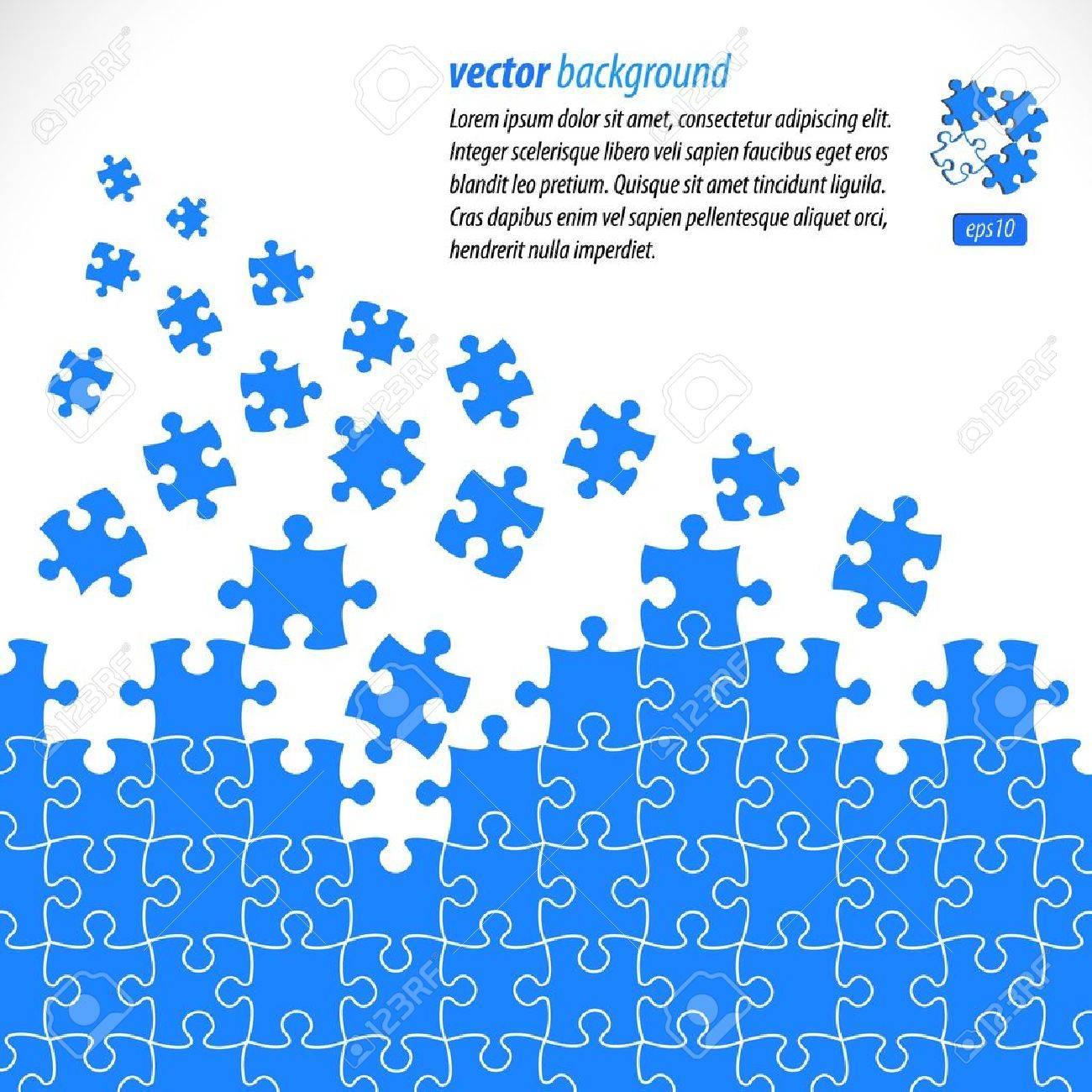 Puzzle Pieces Vector Design Royalty Free Cliparts, Vectors, And ...