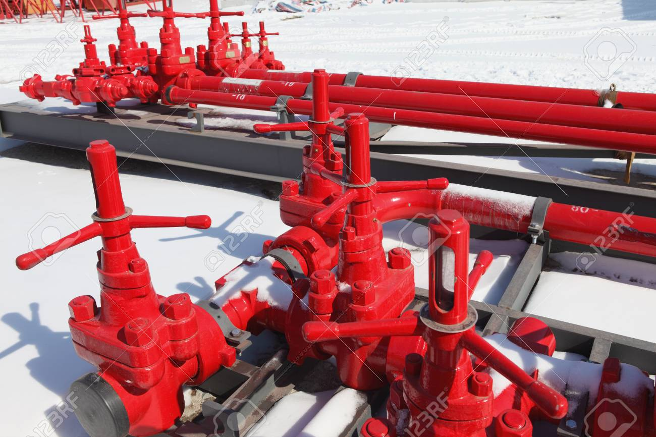 Red valves Stock Photo - 17232626