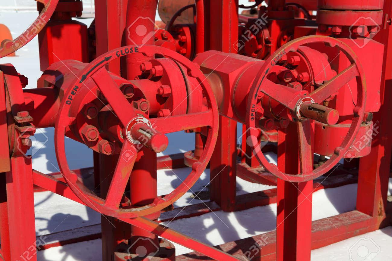 Red valves Stock Photo - 17232628