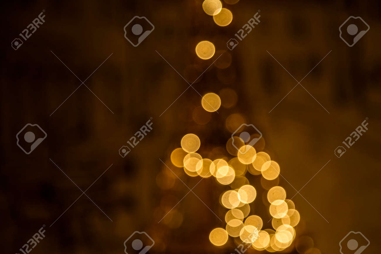 eiffel tower decorated with christmas lights stock photo 66178337