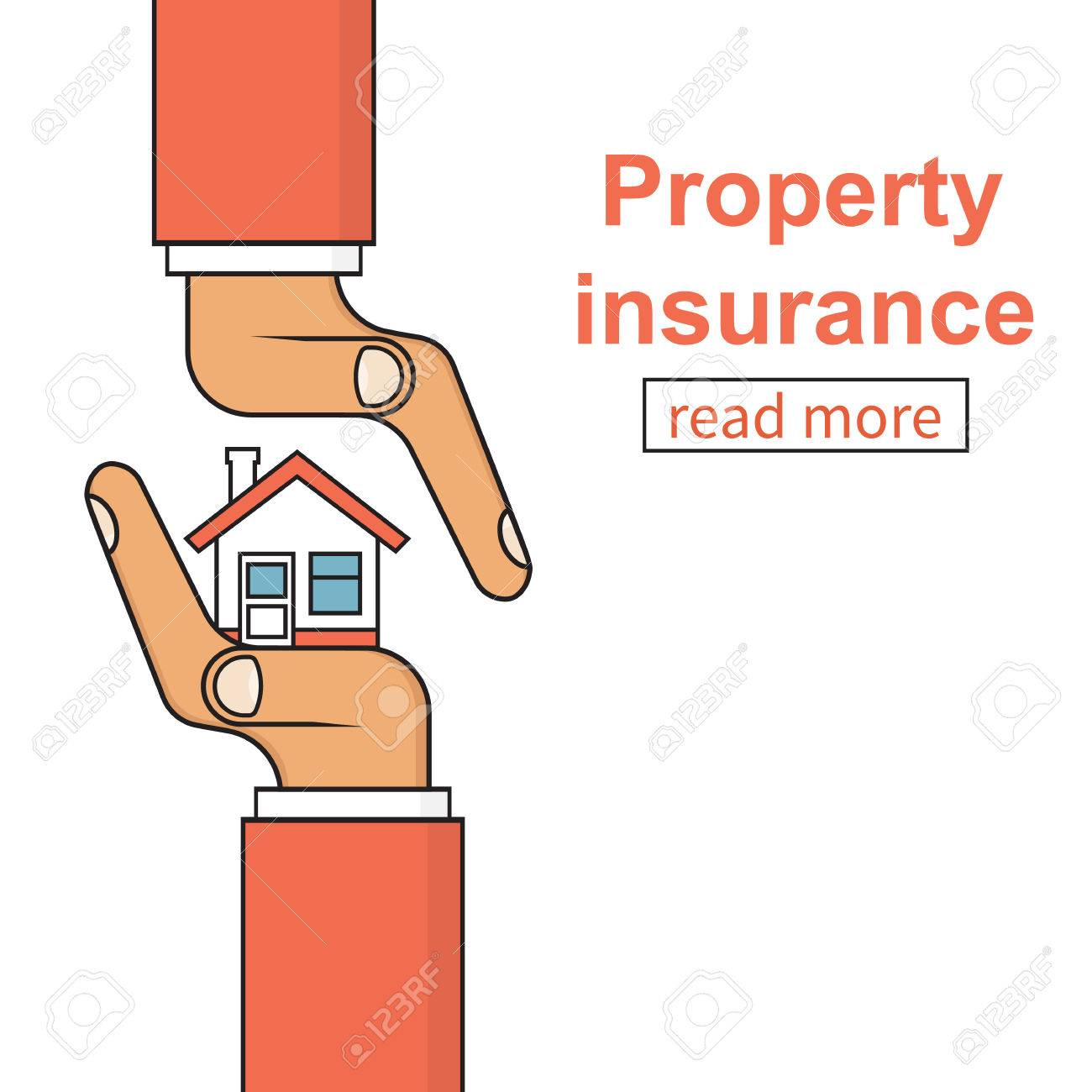 Property Insurance Icon. Concept Security, Providing Protection ...