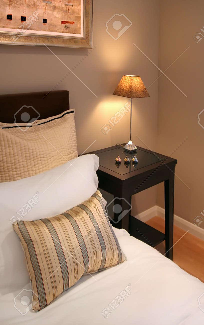Bedroom interior in contemporary home Stock Photo - 2531301
