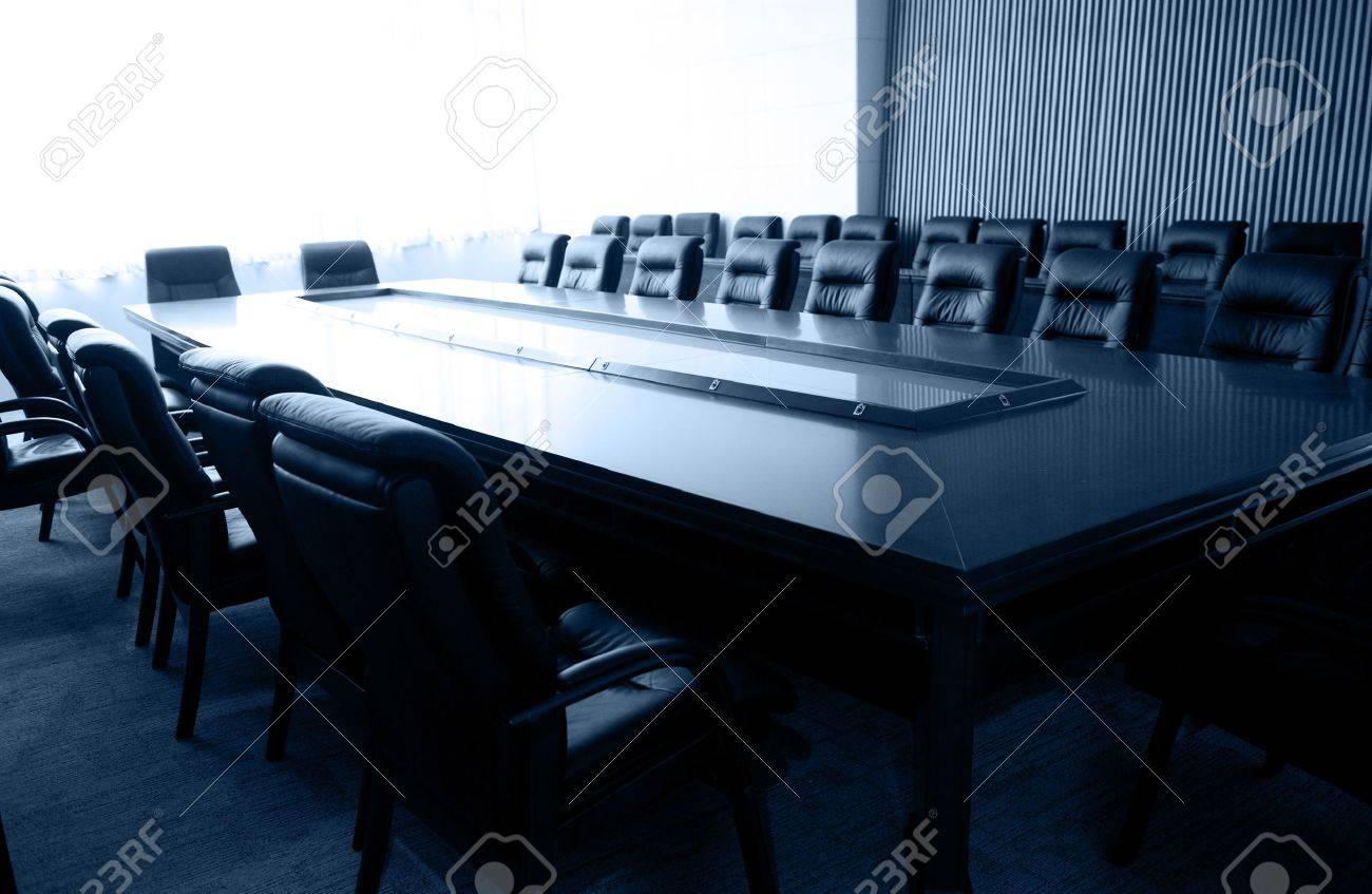 Conference table and chairs in meeting room  Stock Photo - 13266713
