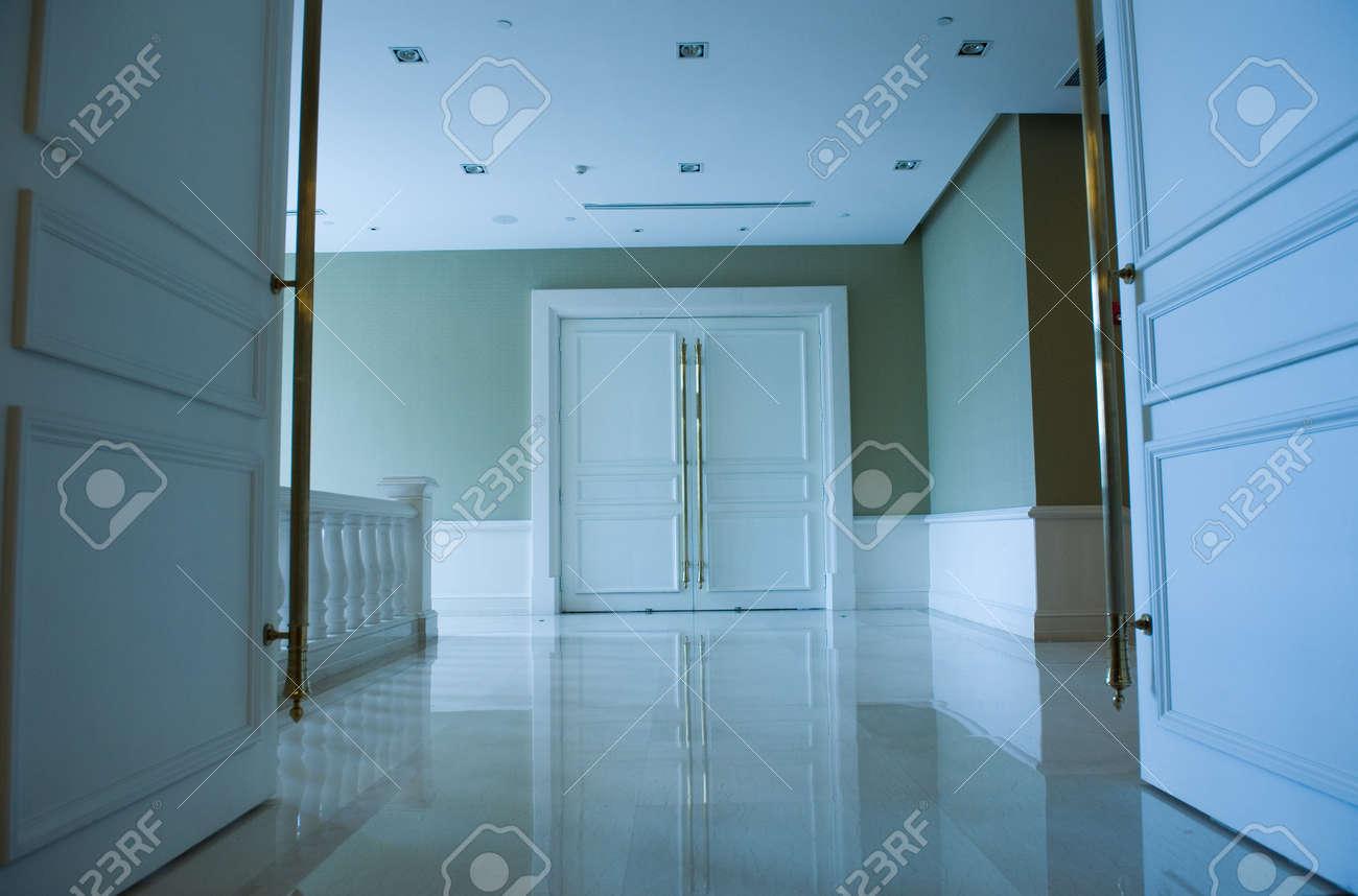 closed door in a luxury hotel. Stock Photo - 13265979