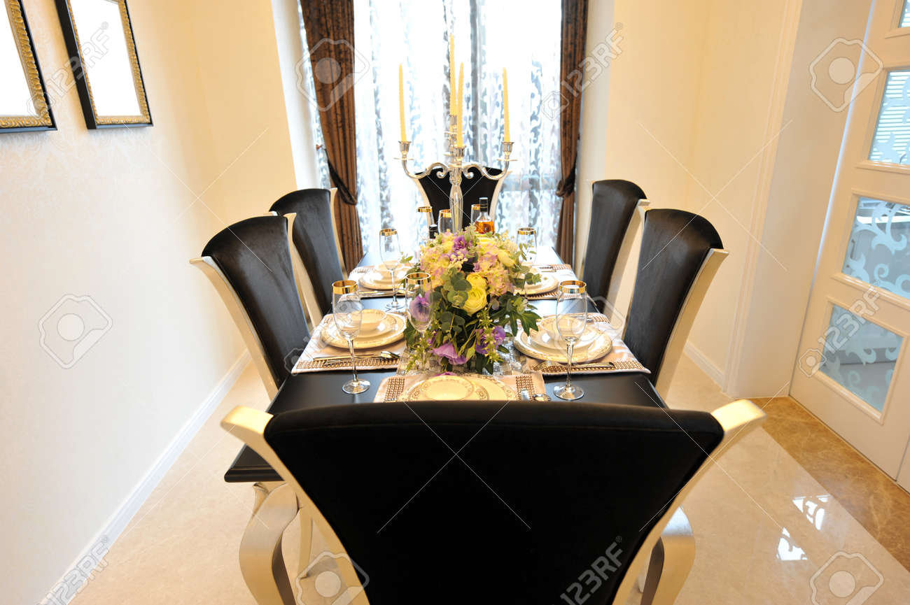 dining room in luxury home with french doors stock photo picture dining room in luxury home with french doors stock photo 13536760