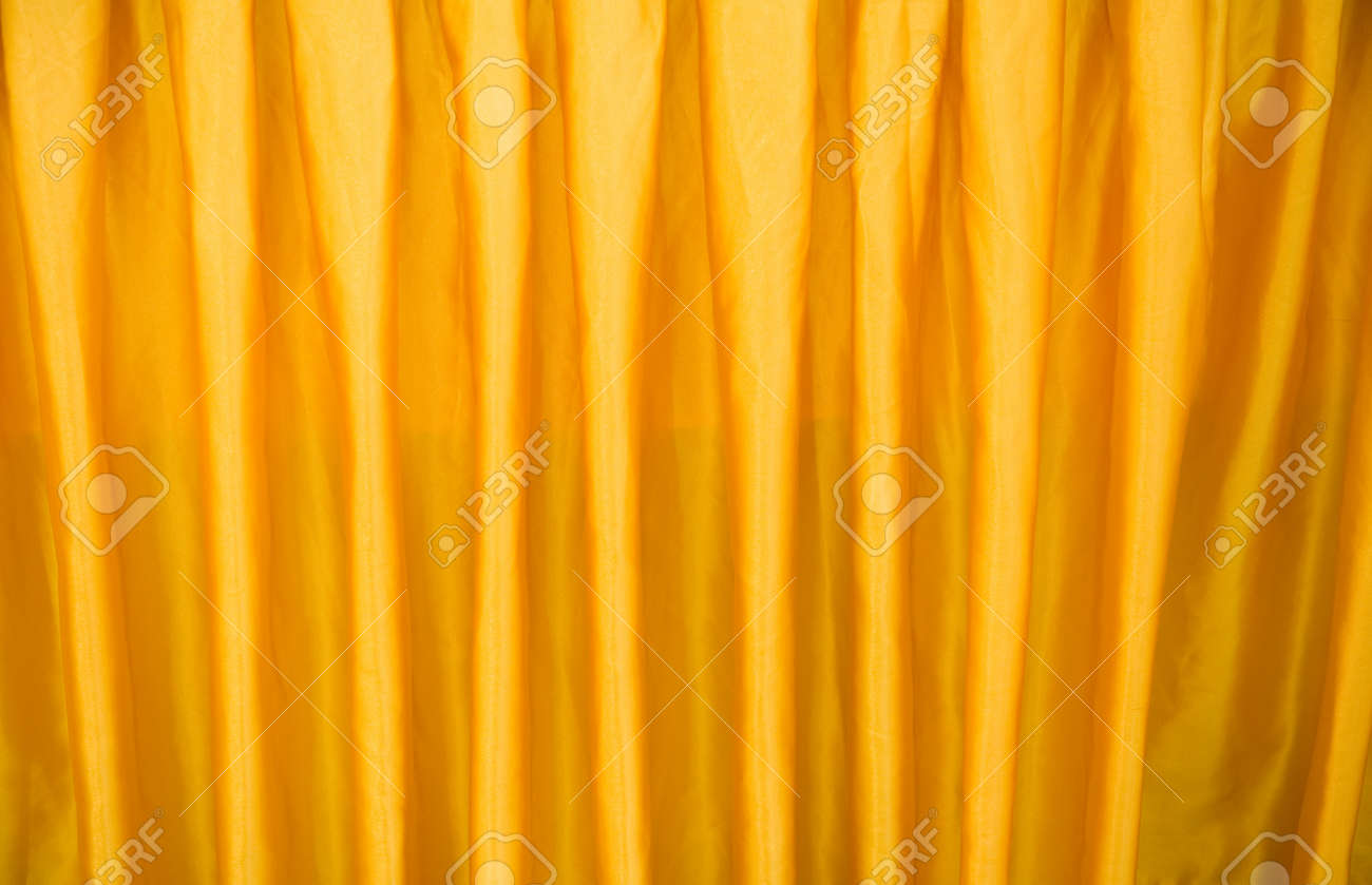 Curtains texture gold - Luxurious Golden Curtain Texture In Theater Useful For Backgrounds Stock Photo 13831385