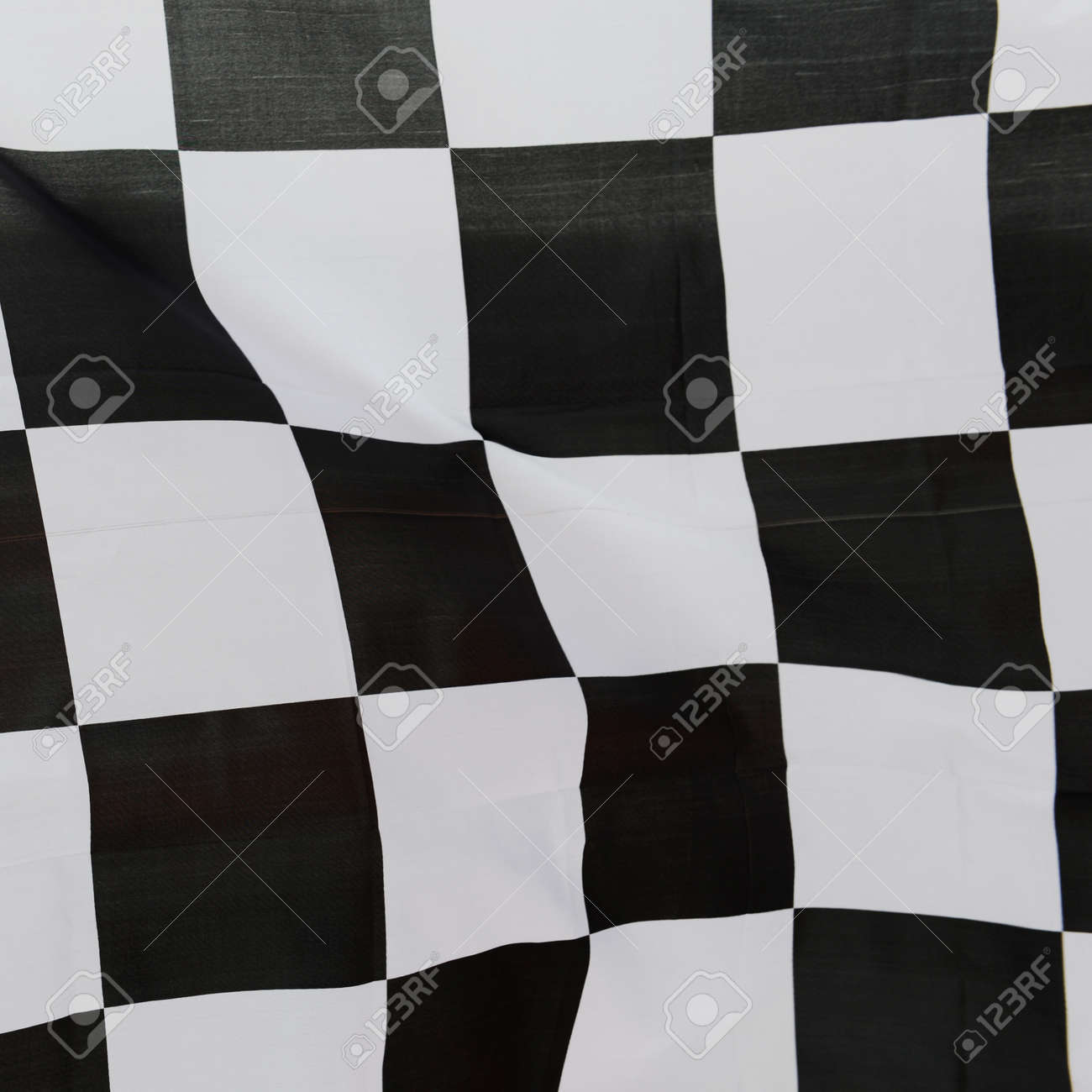 close-up of racing flag, background. Stock Photo - 14594994