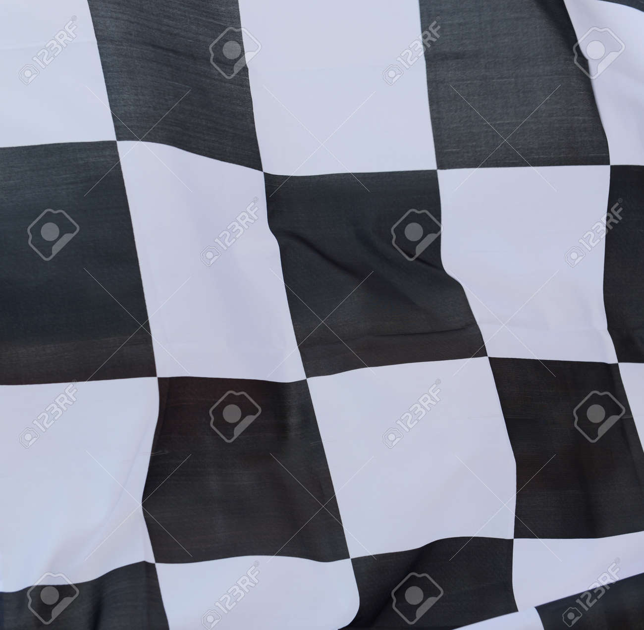 close-up of racing flag, background. Stock Photo - 14595040