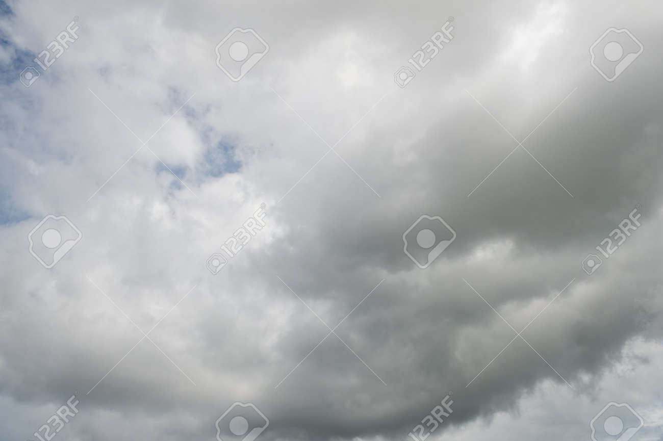 sky with  puffy white clouds. Stock Photo - 17414914