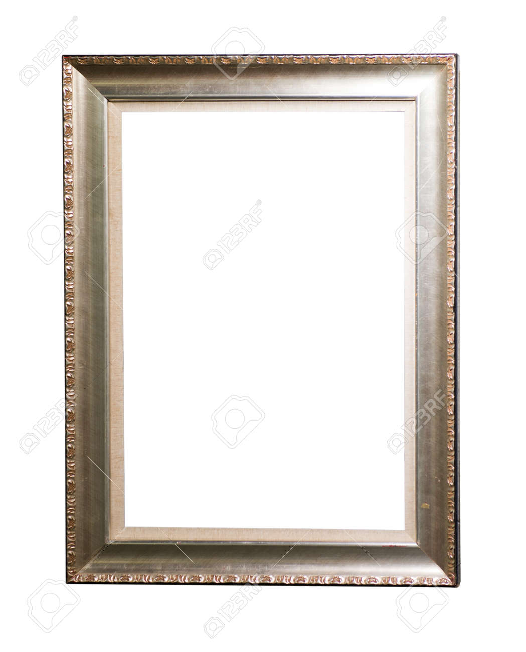 gold antique picture frame Stock Photo - 22836829