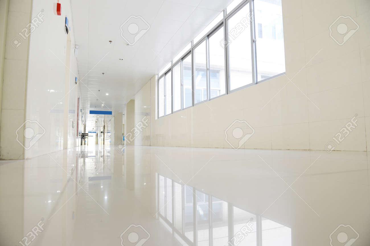empty corridor in the modern building. Stock Photo - 25012556
