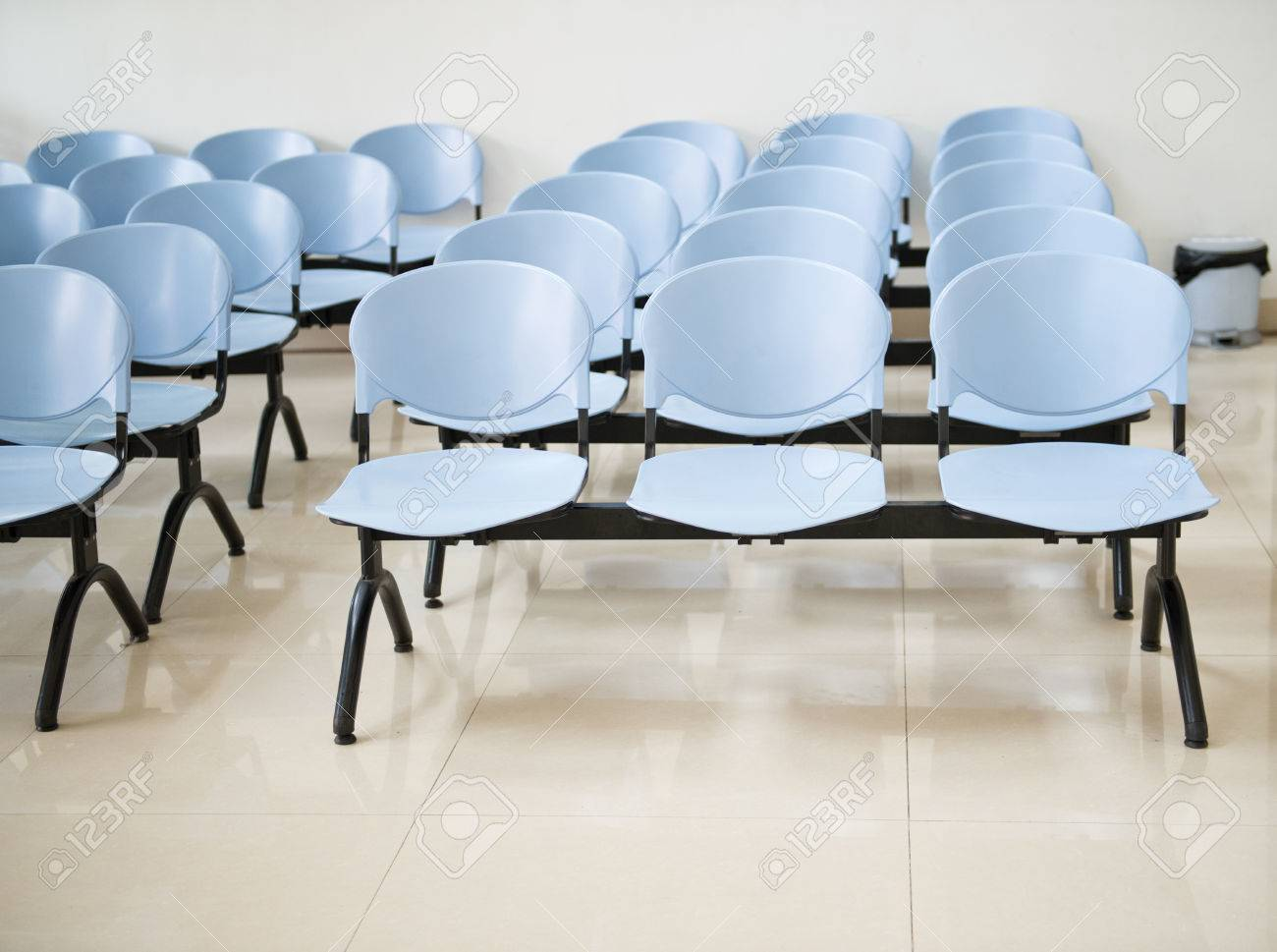 Empty chair in room - Hospital Waiting Room With Empty Chairs Stock Photo 24936678