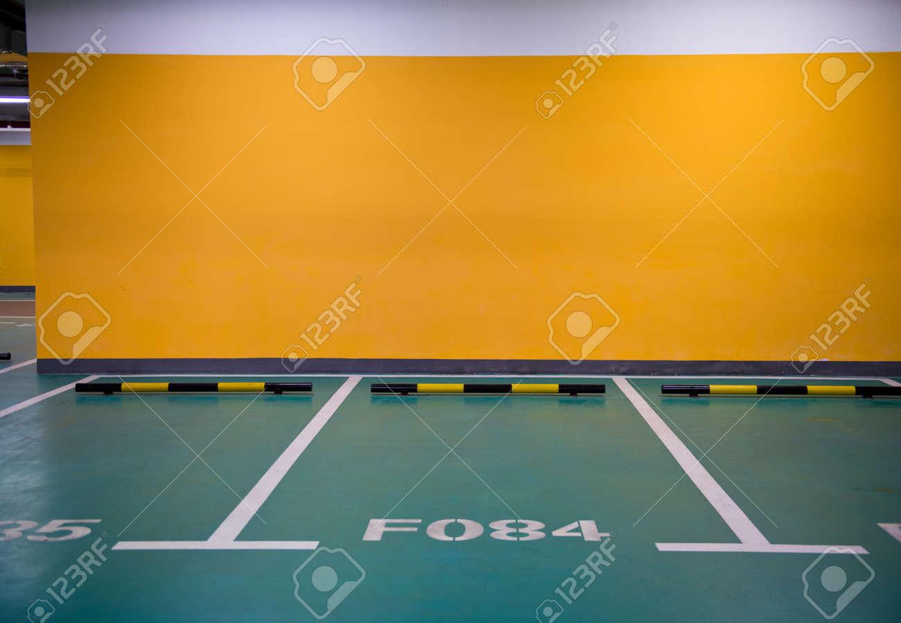 Parking lot in an underground garage Stock Photo - 33710813